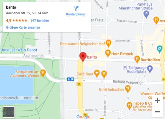 Barito maps