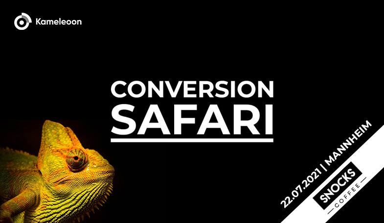 Conversion Safari 2021 Snocks